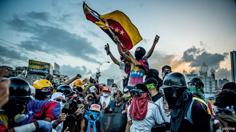 Manifestants Venezuela